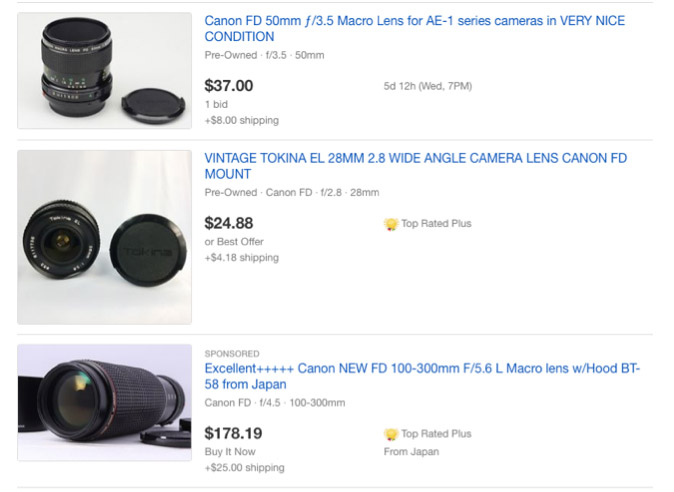 Cheap Manual Lenses: How to Shop Vintage and Save - Kinetic Ink